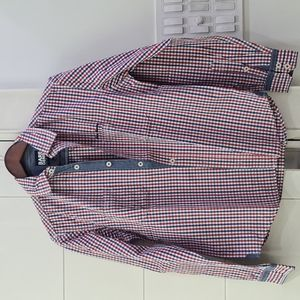 Bare Denim Check Shirt